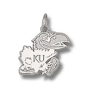 University Of Kansas Jayhawks Polished Jayhawk Pendant