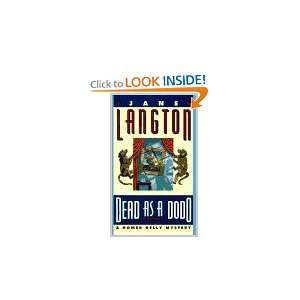 As a Dodo A Homer Kelly Mystery (9780670862214) Jane Langton Books