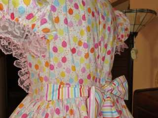 Adult Sissy Baby Dress Party Time by Annemarie