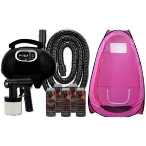 Spray Solution Tanning KIT TENT Machine Heat Airbrush Tan Air Brush