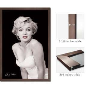 Framed Marilyn Monroe Red Lips Sexy Poster FrPp31398A