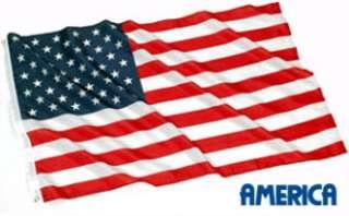ft. USA US U.S. American Flag Stars Grommets United States Feet