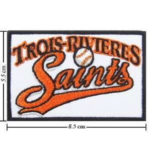 Trois Rivieres Saints Logo Iron On Patches: Everything