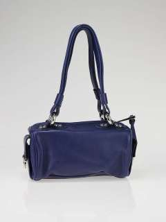 Marc Jacobs Bright Blue Leather Mini Satchel Bag