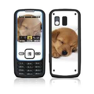 Samsung Rant M540 Decal Vinyl Skin   Animal Sleeping Puppy