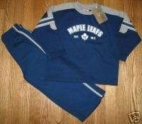 TORONTO MAPLE LEAFS NHL Hockey Boys Size 6X Mighty Mac Sweatsuit