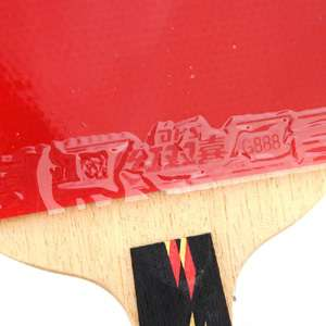 DHS Ping Pong Racket Penhold Paddle 4 Star Professional