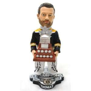 BOSTON BRUINS TIM THOMAS #30 NHL OFFICIAL 2011 STANLEY CUP CONN SMYTHE