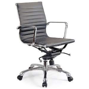 Comfy Low Back Black Office Chair comfy lb b chair: Office Products