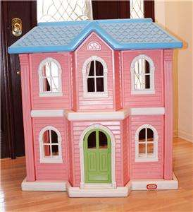 LITTLE TIKES little tykes DOLL HOUSE child sz HUGE RETIRED ITEM P/U