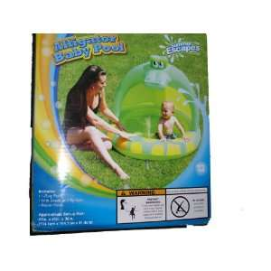Summer Escapes Inflatable Alligator Baby Pool: Toys & Games