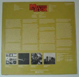PINK FLOYD Masters Of Rock Vol. 1 HARVEST LP Germany