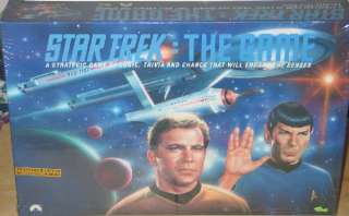 Star Trek The Game 1992, Classic TV Trivia SEALED, NEW