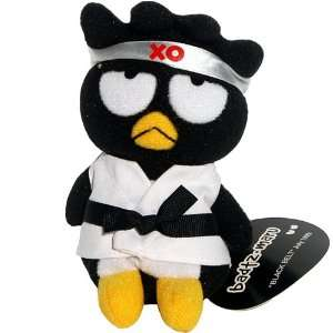 Badtz Maru Karate Black Belt   Sanrio Hello Kitty   Bean Bag Plush