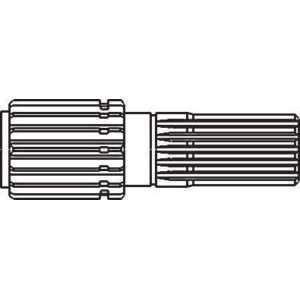New Differential Hub Shaft 81453C1 Fits CA 395, 485