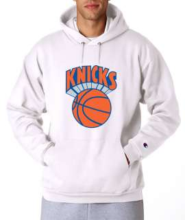 New York Knicks Throwback Logo Champion Hoodie Pullover Hooded