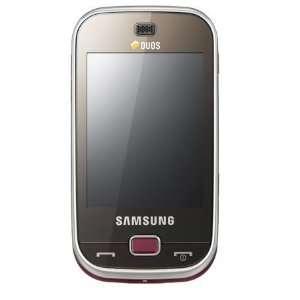 Samsung B5722 GSM Quadband Phone (Unlocked) Dark Brown