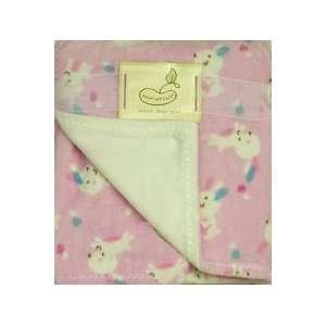 Super Soft Printed Blanket Pink Bunny Baby