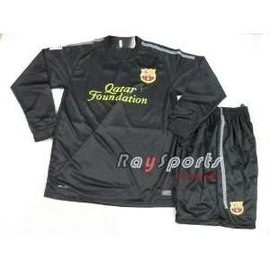 barcelona 11 12 away long sleeve shirts 2011 2012 soccer football