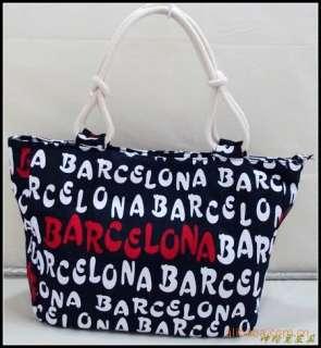 Women Lady Girl Fashion Characters Canvas Shoulder Bag Handbag Purse