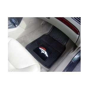 NFL Denver Broncos Car Mats Vinyl