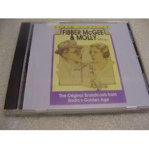 Audio Compact Disc CD of Fibber Mcgee & Molly  Volume I Original Radio