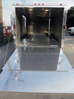 NEW 8.5 X 24 ENCLOSED TRAILER CAR BIKE CARGO HAULER