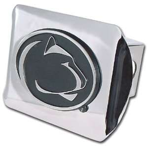 Penn State University Nittany Lions Bright Polished Chrome with