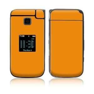 Simply Orange Decorative Skin Cover Decal Sticker for Samsung Alias 2