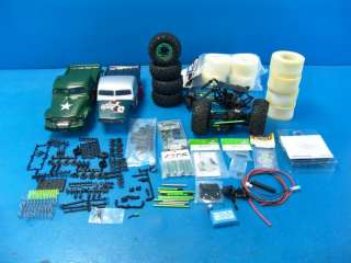 HM Axial SCX10 Electric R/C Rock Crawler PARTS LOT Chassis Hardware