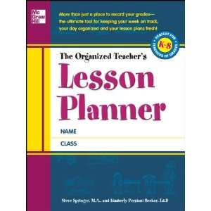 The Organized Teachers Lesson Planner (9780071754651
