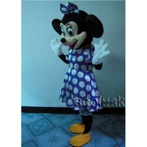 navy blue cartoon costume minnie mouse mascot for party: Toys & Games