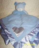 Baby Boom Blue Its A Boy Teddy Bear Security Blanket