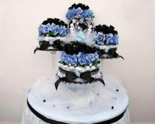 Boy/Girl Baby Shower Diaper Cake Centerpiece/Gift/Decoration/Favor