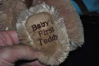 Koala Baby Babys First Teddy Bear Brown Plush Stuffed Animal Lovey