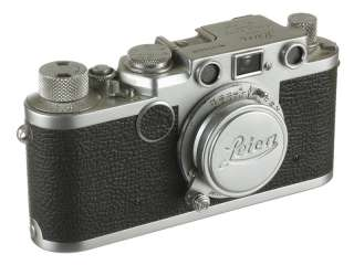 Leica IIf Red Dial Rangefinder Camera with Elmar 50mm 3.5 Red Scale