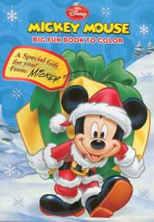 Disney Mickey Mouse Christmas Coloring and Activity Book for Children