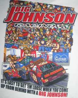 Big Johnson T Shirt Get Loose Racing