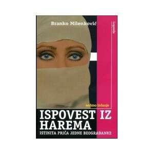 Ispovest iz harema Branko Milenkovic Books
