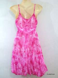 Summer Beach Marble Tie Dye Tank Tops Shirt Blouse,XS L