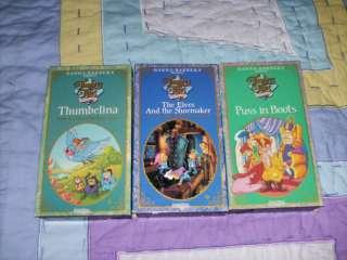 Hanna Barbera Presents Timeless Tales Thumbelina + VHS