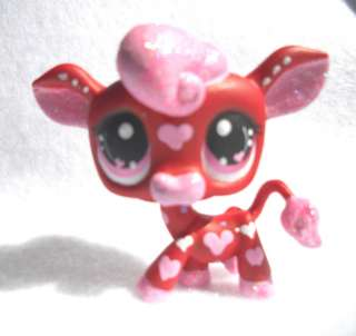Heart Throb Valentine Cow * OOAK Custom Littlest Pet Shop