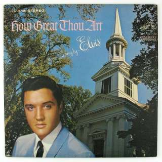 ELVIS PRESLEY How Great Thou Art LP NM  VG+