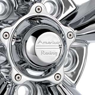 American Racing Authentic Hot Rod Torq Thrust D Chrome Plated