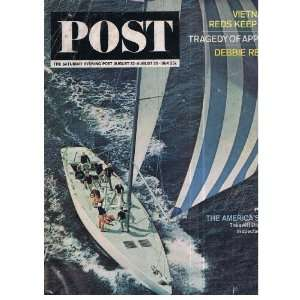 The Saturday Evening Post magazine issue August 22/29 1964