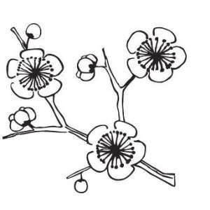 Scan Trends 2005 01 Wall Stickers Cherry Tree   Black