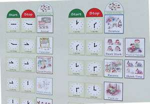 Classroom Visual Schedule/Magnetic Classroom Schedules