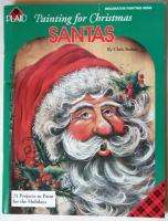 Christmas Santa Craft Paint 24 Projects And Ornaments