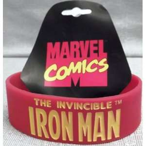 Marvel Comics The Invincible IRON MAN 7 Red Long Bracelet