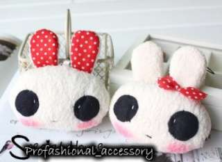 CL067 Korean Style Cute Big Eyes Rabbit Phone Strap 1pc